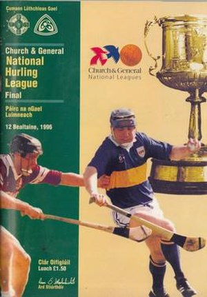 1995–96 National Hurling League - Image: 1995–96 National Hurling League final programme