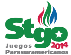 2014 Para-South American Games - Image: 2014 Para South American Games logo