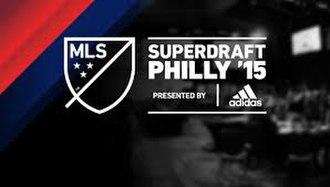 2015 MLS SuperDraft - Image: 2015 MLS Super Draft logo
