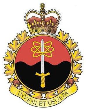 21 Electronic Warfare Regiment - The 21 EW badge