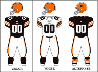 2008 Cleveland Browns season - Image: AFCN Uniform CLE07 08