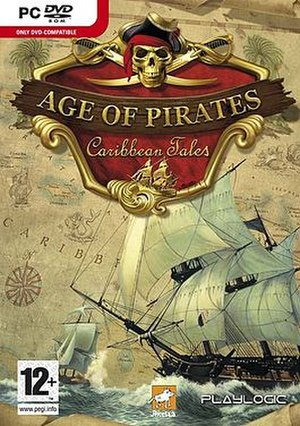 Age of Pirates: Caribbean Tales - Image: Age of pirates front