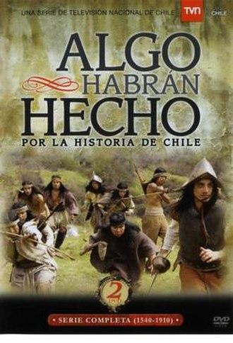 Algo habrán hecho por la historia de Chile - Cover of the DVD edition