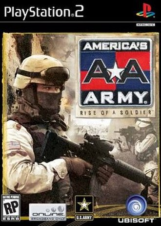 America's Army: Rise of a Soldier - Box art for the cancelled PlayStation 2 version