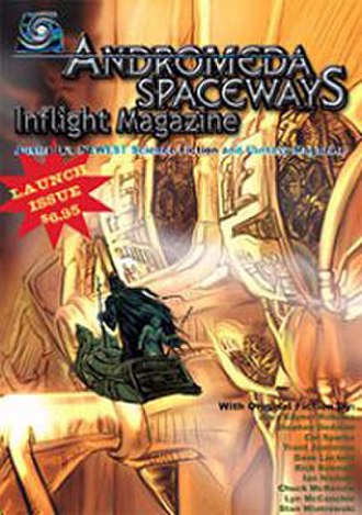 Andromeda Spaceways Inflight Magazine - Image: Andromeda Spaceways Inflight Magazine (issue no. 1, front cover)
