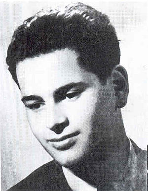 André Tchaikowsky as a young man
