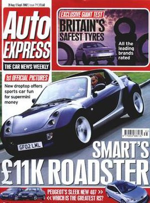 Auto Express magazine, 28 August 2002 issue