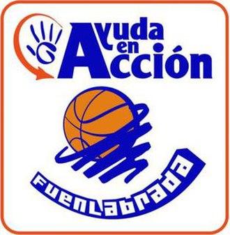 Baloncesto Fuenlabrada - Image: Ayudafuenlabrada