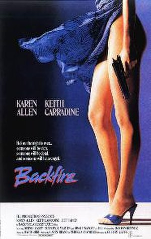 Backfire (1988 film) - Theatrical release poster