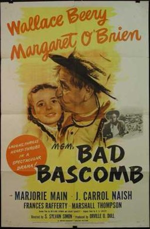Bad Bascomb (film) - Theatrical poster