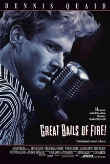 <i>Great Balls of Fire!</i> (film) 1989 film by Jim McBride
