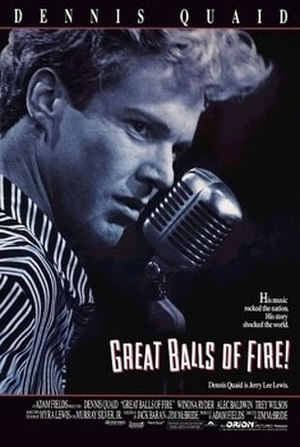 Great Balls of Fire! (film) - Theatrical release poster