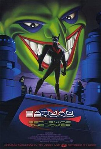 Batman Beyond: Return of the Joker - Home video release poster