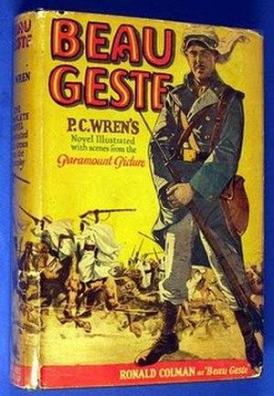Beau Geste - Image: Beau Geste novel
