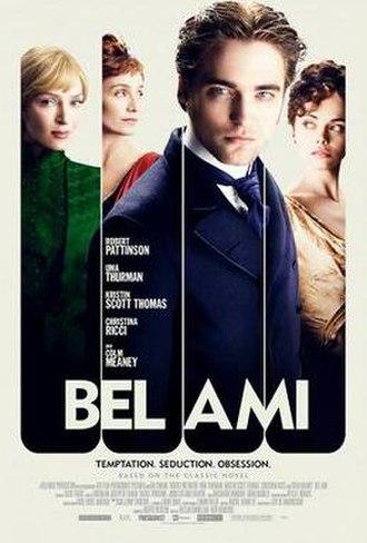 Bel Ami (2012 film) - Image: Bel ami poster
