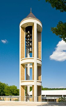 Bell tower at Dalton State College.