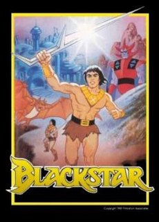 <i>Blackstar</i> (TV series) US-American animated television series from 1981