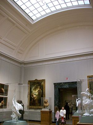Museum of Fine Arts, Boston - A gallery of European art