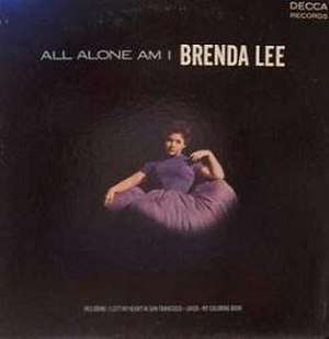 All Alone Am I (album) - Image: Brenda Lee All Alone Am I