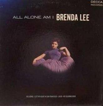 All Alone Am I (album) - Image: Brenda Lee All Alone Am I