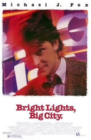 Bright Lights, Big City (film) - Theatrical release poster