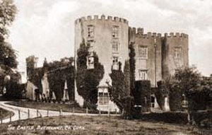 Clotilde Graves - Buttevant Castle, Co. Cork in 1880, the childhood home of Clo Graves