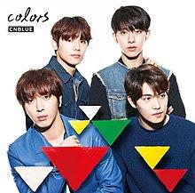colors cnblue album wikipedia