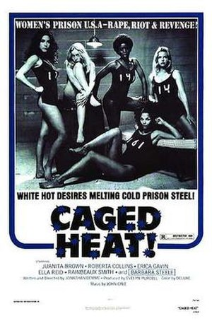 Caged Heat - Theatrical release poster