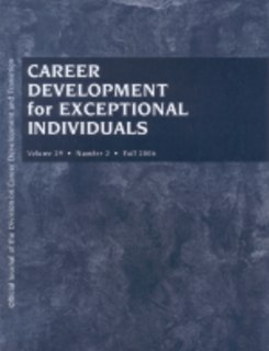 <i>Career Development and Transition for Exceptional Individuals</i> journal