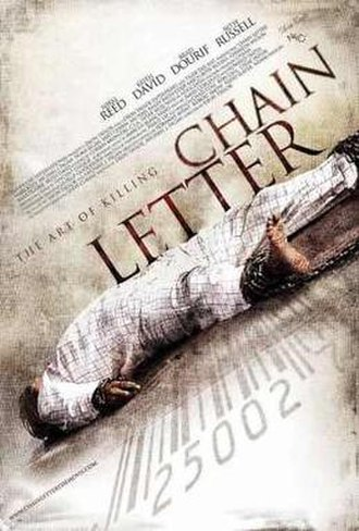 Chain Letter (film) - Theatrical release poster