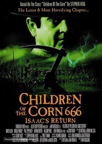 Children of the Corn 666: Isaac's Return - DVD artwork