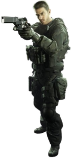 character in the Resident Evil series of video games