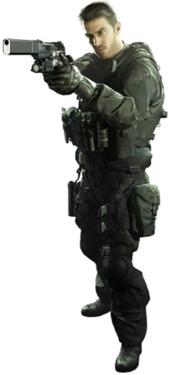 Chris Redfield - Chris Redfield in Resident Evil 7: Biohazard