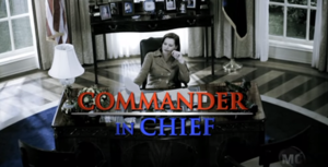 Commander in Chief (TV series) - Image: Commander in Chief logo