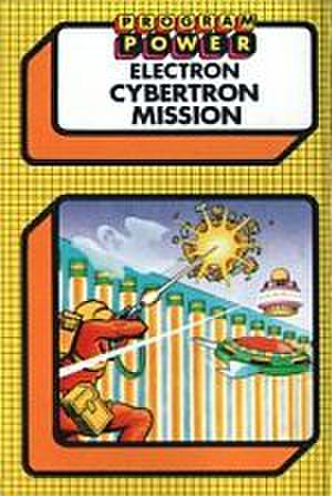 Micro Power -  Typical cover image. The majority of Program Power / Micro Power software was released in uniform covers. This is the Electron version of Cybertron Mission