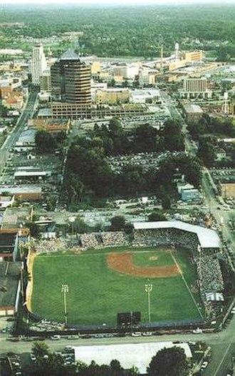 Durham Athletic Park - Image: DAP brochure