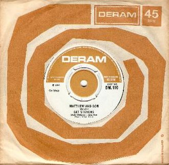 Deram Records - Image: Deram Label And Bag 1968