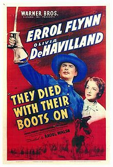 Image result for they died with their boots on movie