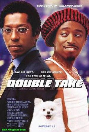 Double Take (2001 film) - Image: Double Take (2001) film poster