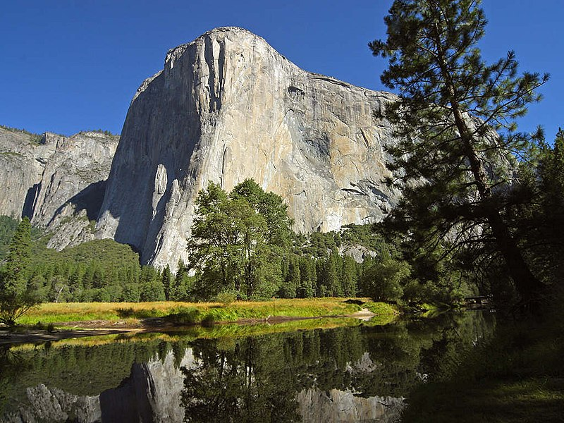 File:El capitan and merced river.jpg