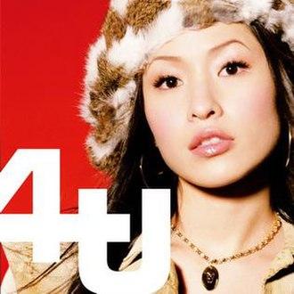 4U (album) - Image: Elva Hsiao 4U cover