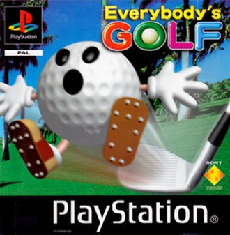 Everybody's Golf (1997 video game) - European cover art