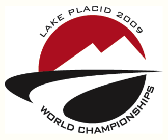 FIBT World Championships 2009 - Official logo for the FIBT World Championships 2009 that is also used for the FIL World Luge Championships 2009.