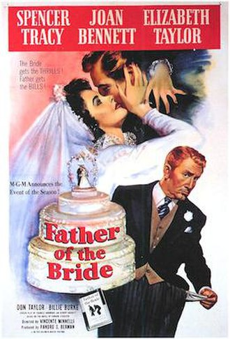 Father of the Bride (1950 film) - Theatrical release poster