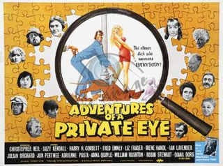 <i>Adventures of a Private Eye</i> 1977 film by Stanley Long