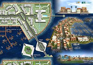 The Flower of the East Marina, a multi-billion...