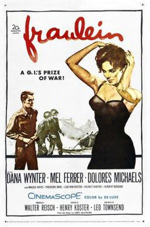 Fräulein (1958 film) - Image: Fräulein Film Poster