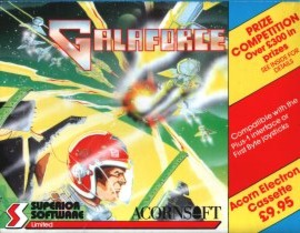 Galaforce - Image: Galaforce electrton cover