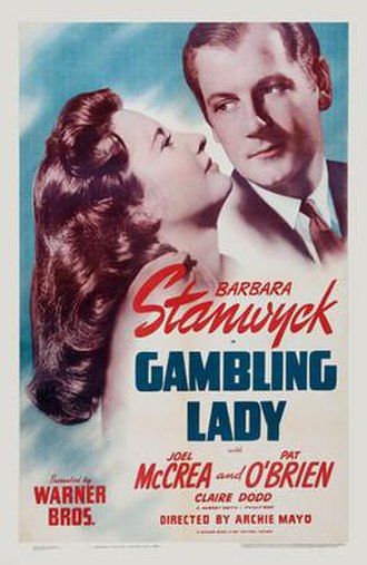 Gambling Lady - Theatrical release poster