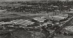 General Steel Industries - General Steel Industries, Inc. Castings Division's Granite City, Illinois plant, circa 1970